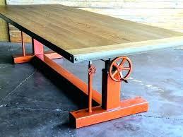 vintage metal furniture. Etsy Table Legs Vintage Industrial Crank Desk  Full Size Of Metal Furniture