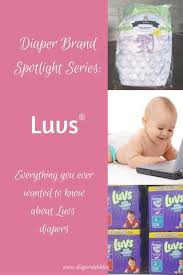 Diaper Brand Spotlight Series Luvs Super Absorbent Ultra