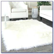 sheepskin area rug stylish awesome faux fur rugs inside throughout grey 8x10 safavieh white woo