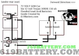 auto battery wiring diagram 2008 gem car club charger dual full size of parallel car battery wiring diagram club 4 48 volt charger gem for electricity