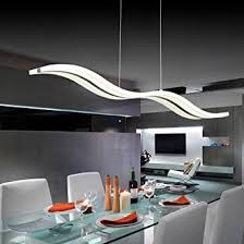 modern dining room lighting fixtures. lightinthebox acrylic led pendant light wave shape chandeliers modern island dining room lighting fixture with max fixtures t