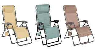 sonoma goods for life patio antigravity chair for as low as 34 99 free reg 140