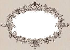 oval filigree frame tattoo. Vintage. Oval FrameFiligreeTattoo Filigree Frame Tattoo E