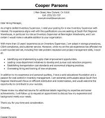Warehouse Supervisor Cover Letter Example Warehouse Supervisor Cover Letter Sample Ipasphoto