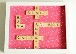 scrabble word frame claireabellemakes