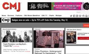 Schedule Cmj Com Website Cmj Music News Album Reviews