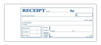 Business Receipts Templates Template Business Receipt Template 9
