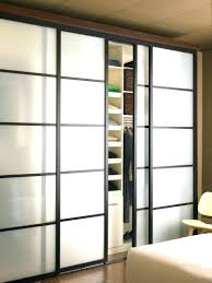 modern glass closet doors. Glass Bifold Closet Doors Modern 3 Sliding Panel Etched Wardrobe O