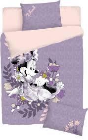 Комплект <b>постельного белья Disney Minnie</b> Maus, сиреневый, 1,5 ...