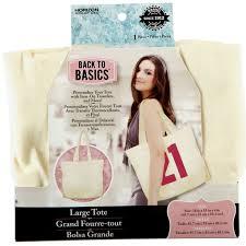 Back to Basics™ Canvas Tote Bag, Large