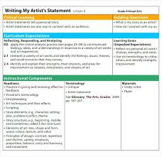 Artist Statement Template Learning Story Templates Free – Mklaw