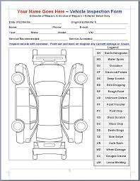 Mike Phillips Vif Or Vehicle Inspection Form Vehicle