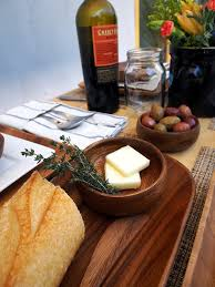 4. Wood bowls that are hand turned, eco-friendly, and will have them  serving up a rustic affair.