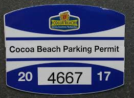 Parking Permits Cocoa Beach Fl Official Website