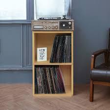 Natural Closet Organizers Storage Cubes Cube Storage  Vinyl Record Lp74