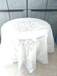 red white checd round plastic tablecloths black and lace table cloth kitchen pretty