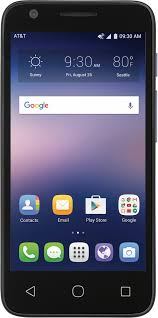 best at t prepaid at t prepaid alcatel ideal 4g lte with 8gb memory prepaid cell phone slate blue 6454a