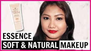 essence soft natural makeup review wear test