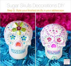 sugar skulls diy step 3