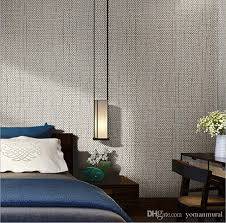 modern linen wallpapers designs beige brown non woven flax 3d textured wallpaper plain solid color wall paper for living room desktop backgrounds wallpapers