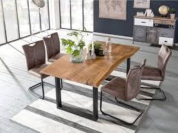 Woodkings Tischgruppe Kenton Esstisch 170x90 Mit 4