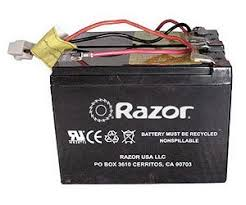 razor electric scooter bike and go kart battery packs battery pack wiring harness and connector for the razor® sport mod electric scooter includes 3 month razor® battery replacement warranty