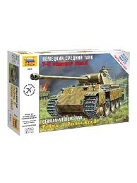 """<b>Сборная модель Немецкий</b> средний танк T-V """"Пантера"""" <b>Звезда</b> ..."""