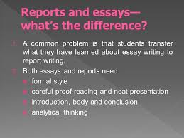 unit writing writing reports ppt video online  4 reports and essays what s