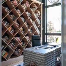 contemporary home office ideas. Home Office - Contemporary Freestanding Desk Medium Tone Wood Floor And Brown Idea Ideas
