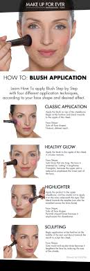 how to blush application learn how to apply blush step by step with 4 diffe application techniques according to your face shape and desired effect