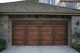 rustic garage doorsIngenious Ideas of Dark Garage Doors  Decohoms