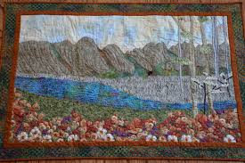 Pieced Brain: Landscape quilts & Landscape quilts Adamdwight.com