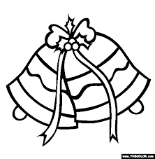 Small Picture Christmas Silver Jingle Bells Online Coloring Page