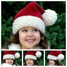 Santa Hat Pattern Beauteous Wonderful DIY Crochet Classic Santa Hat With Free Pattern