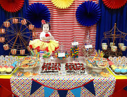 Girls Carnival Birthday Party
