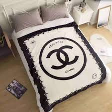 Chanel Throw Blanket