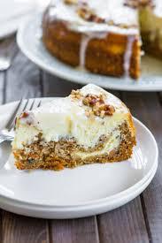 Carrot Cake Cheesecake Recipe Chefdehomecom