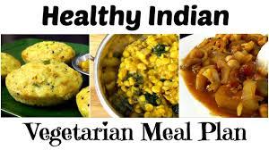 Bananthi Food Chart Healthy Indian Vegetarian Meal Plan Breakfast Lunch Dinner