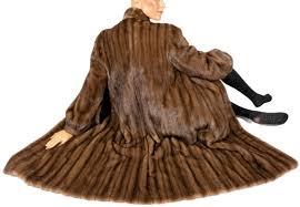 pelzkrawatte real mink fur coat with mink stole stole