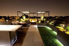 rooftop lighting. Chicago Cubbies Retreat Modern Deck By Green Rooftop Decks 12390 Lighting C