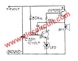 how to make simple electronic buzzer eleccircuit com simple electronic buzzer circuit