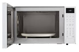 sharp combination microwave. white carousel convection microwave (smc1585bw) \u2013 front view with sharp combination