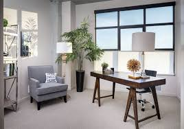 feng shui office design. Feng Shui Office Design With Natural Wood Desk And Houseplants G