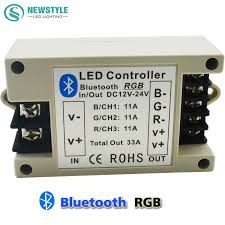iphone controlled lighting. RGBW/RGB LED Bluetooth Controller For 5050 3528 Strip Lighting By Android / IOS Smartphone DC12V 24V-in RGB Controlers From Lights \u0026 Iphone Controlled F