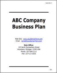 example of a business plan sample business plan thrivingbusiness com inc