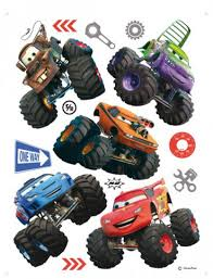 Cars - Toon, Monster Truck Mater And His Friends - Stickers - buy ...