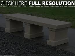 concrete garden bench. Concrete Garden Bench Materials | Inspiring Home Ideas Bunny