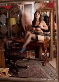 Erotic photos of hot models in nylon stockings Sophie Parker.