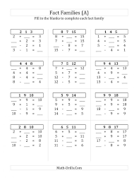 Addfun1 Geographylog Math Addition Worksheets Facts Printable To ...