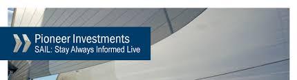 pioneer investments logo. live factsheet link! pioneer investments logo
